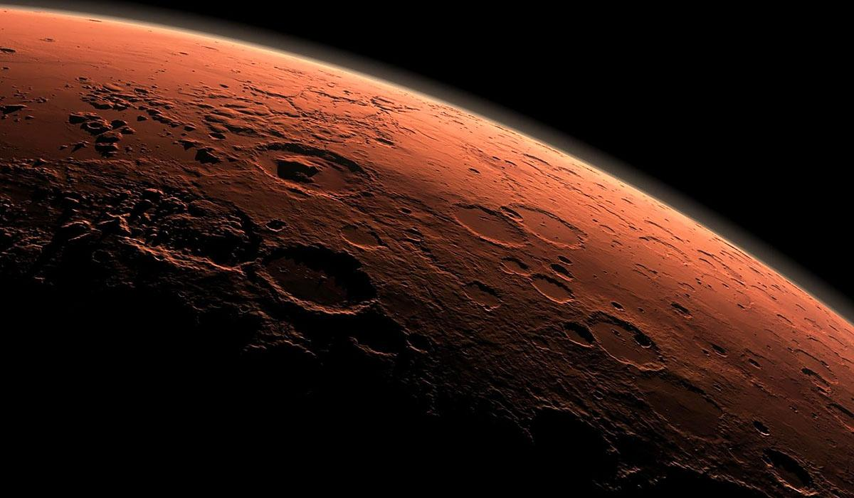 Mars is kosmosa kratery